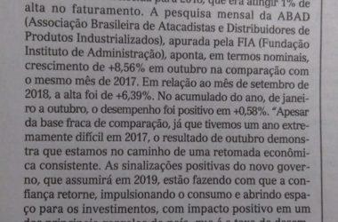 Economia-Coluna no Correio de Sergipe desse final de semana.