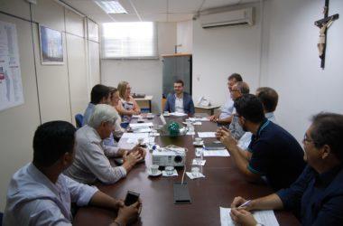 Reunião com Secretário de Estado da Fazenda.